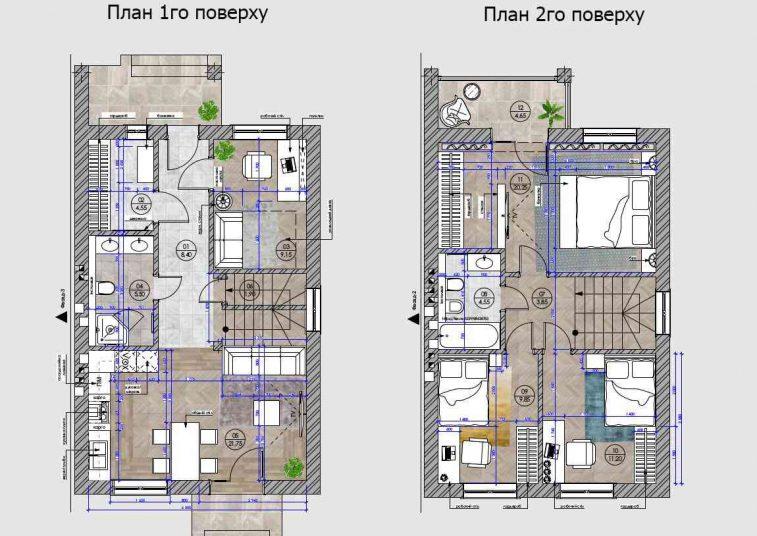 План этажей - Дуплекс Discovery Dream, Ирпень, ул. Озерная 141