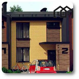 Визуализация - Таунхаус тип 95, Discovery Home, г. Буча, ул. Пушкинская 33в/1-5